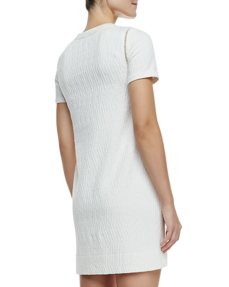 Demi Crochet/Jacquard Dress