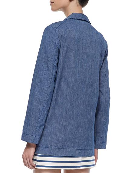 Jamie Pinstripe Jacket