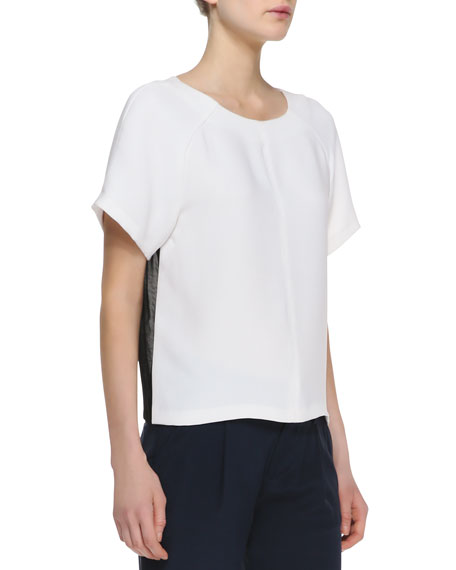 Camille Combo-Color Boxy Tee