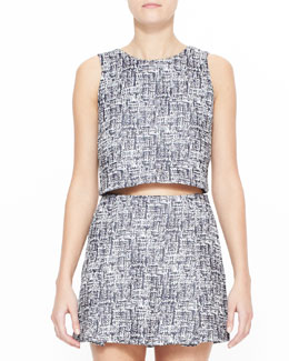 Joie Mintelle Sleeveless Crop Top