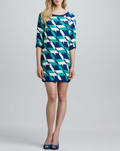 Alice & Trixie Marni Printed Silk Dress