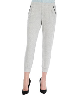 Splendid Montecito Cuffed Terry Trousers
