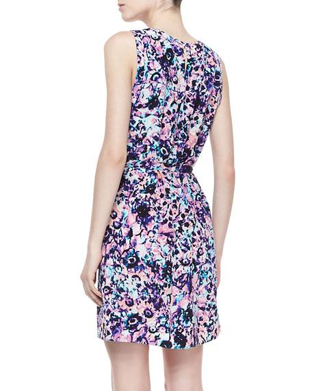 Yasmine Floral Printed Shift Dress
