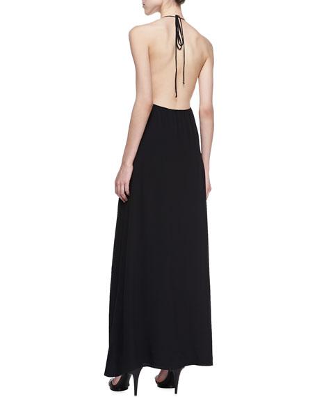 San Pedro Halter Maxi Dress