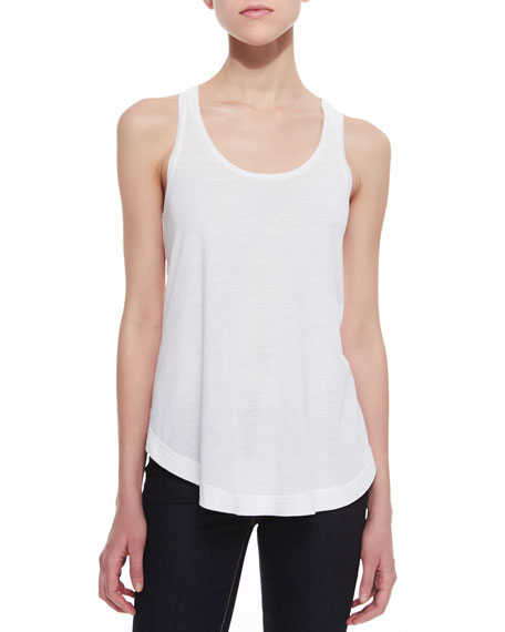 Racerback Scoop-Neck Tank
