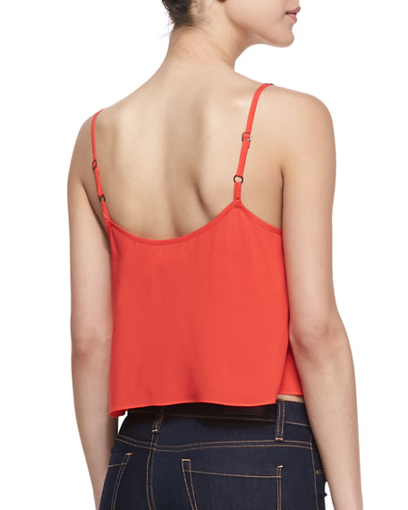 Fire Voile Crop Top