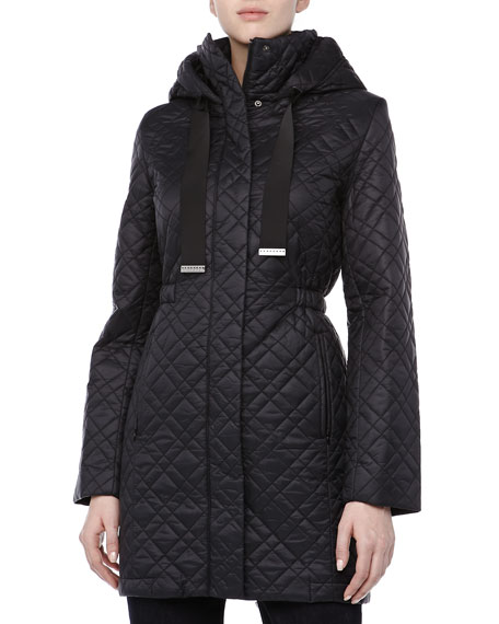 Mary Kate Puffer Coat, Black