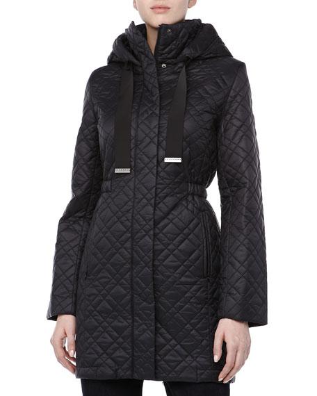 Mary Kate Puffer Coat, Black
