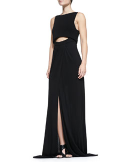 A.L.C. Hillseth Long Peekaboo Dress