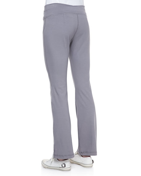 Organic Cotton Yoga Pants, Petite