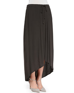 Marina Rinaldi High-Low Chiffon Skirt, Women's