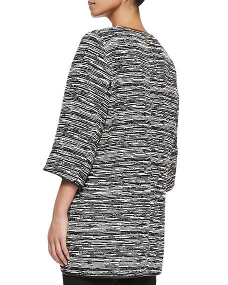 Cavo 3/4-Sleeve Long Jacket, Women's