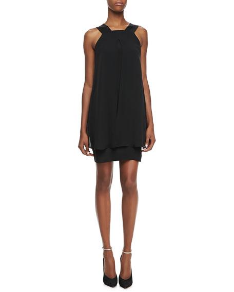 Lylin Double Georgette Sleeveless Dress