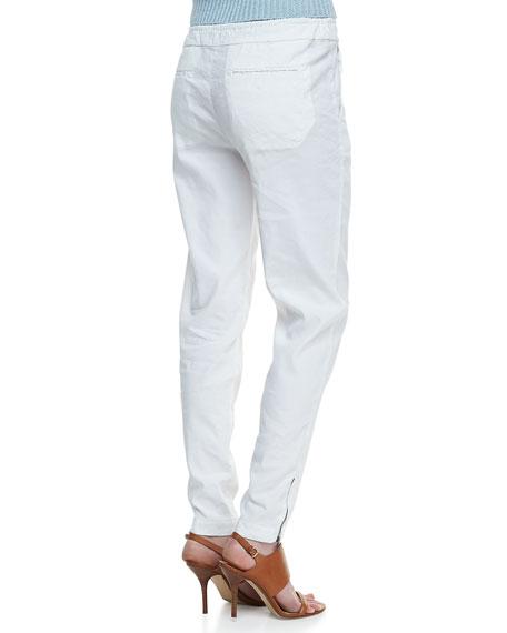 Rhodri Drawstring Slim Pants