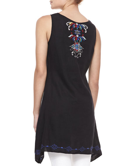 Bianca Embroidered Tank/Tunic