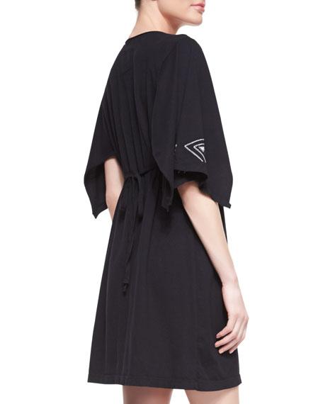 Tamar Embroidered Kimono Dress