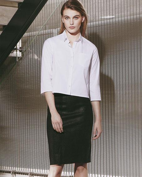 Lerlynn Button-Up Blouse