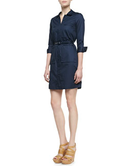 Theory Genla Button-Down Dress