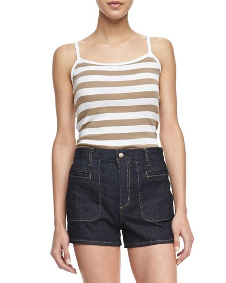 Trissa Striped Knit Tank