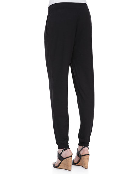 Organic Cotton & Hemp Twist Jersey Pants