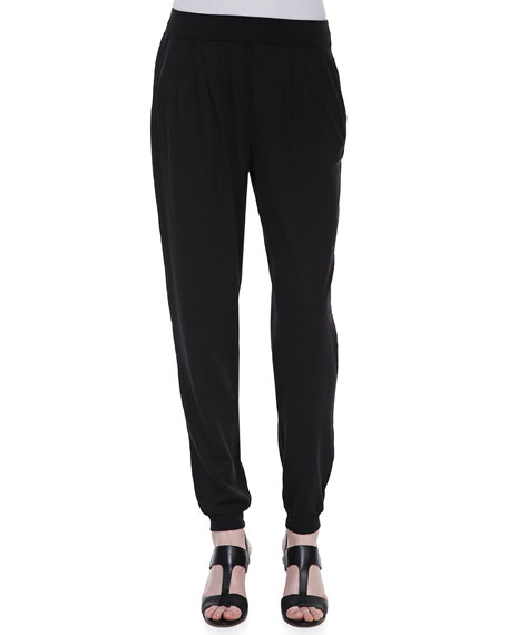 Organic Cotton & Hemp Twist Jersey Pants, Women's