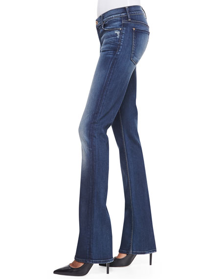 The Skinny Bootcut Jeans, True Blue