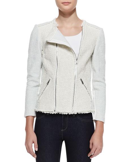 Bicolor Tweed Combo Jacket