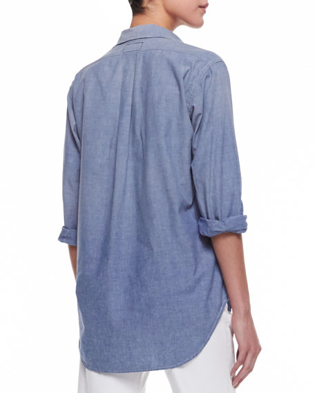 Prep School Long-Sleeve Shirt, Everett