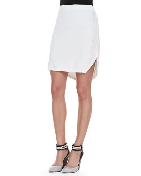 Carol Round-Hem Sweater Skirt