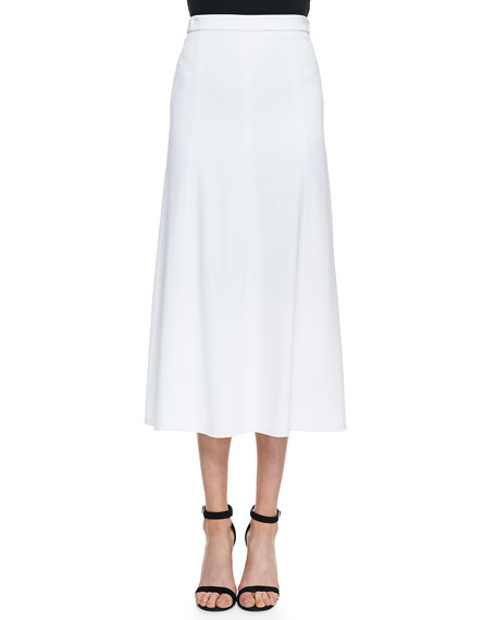 Soalo Flared Maxi Skirt