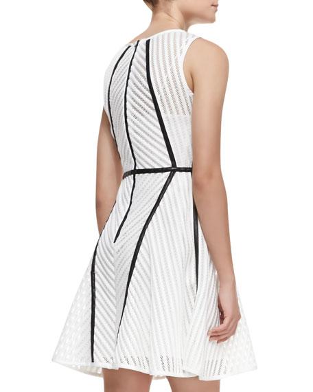 Knit Architectural-Seam Dress