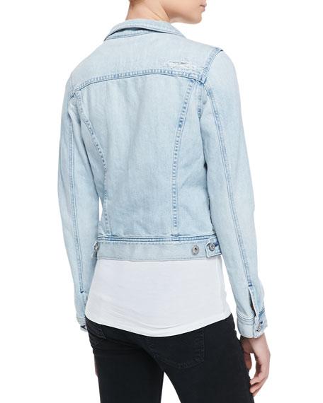 Robyn Denim Jacket, Blue Jay Mend