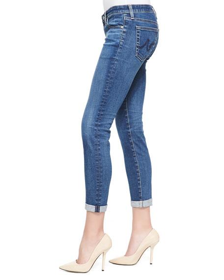 Stilt Skinny Roll-Up Jeans, 11 Years Journey Blue