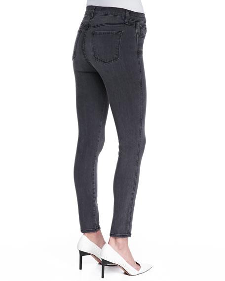 Bree Skinny Cropped Jeans, Night Bird Black