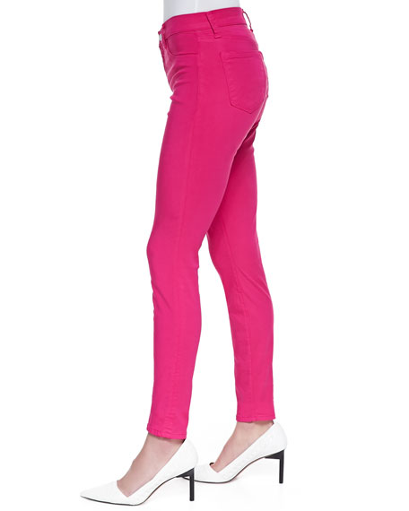 485 Mid-Rise Super Skinny Jeans, Wildflower