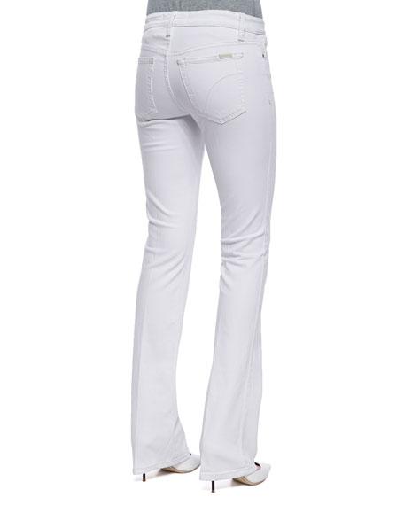 Pennie Boot-Cut Jeans, Optic White