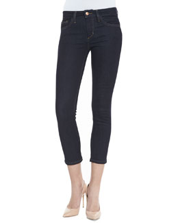 Joe's Jeans Ellie Cropped Skinny Jeans, Dark Blue