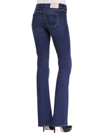Becca Mid-Rise Bootcut Jeans, Cold Dust