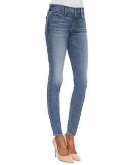True Religion Chrissy Ten Line Mid-Rise Ankle Skinny Jeans
