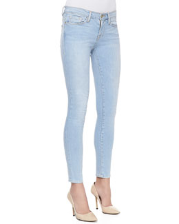Frame Denim Le Skinny Light-Wash Jeans, Redchurch Street