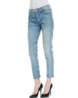 RtA Denim Vintage-Wash Boyfriend Jeans