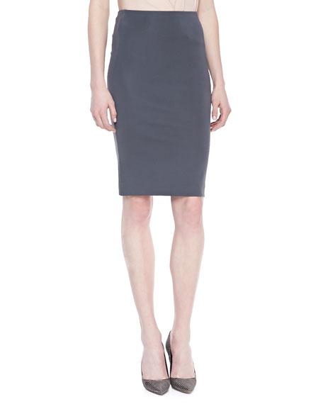 High-Waist Pencil Skirt, Geode