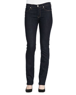 7 For All Mankind Modern Ink Straight-Leg Jeans