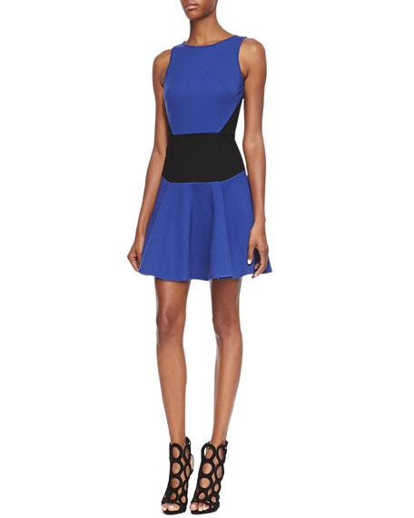 Sleeveless Flirty Knit Dress