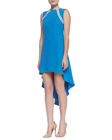 Mariah High-Low Chain-Detail Dress