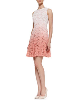 Trina Turk Carpenteria Lace Sleeveless Dress