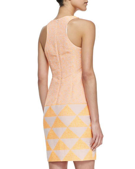 Aptos Mixed-Print Sleeveless Dress