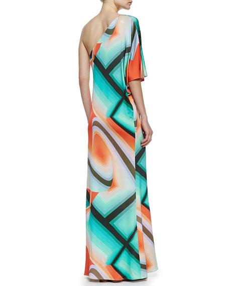 Sausalito One-Shoulder Maxi Dress