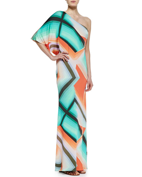 Sausalito One-Shoulder Maxi Dress