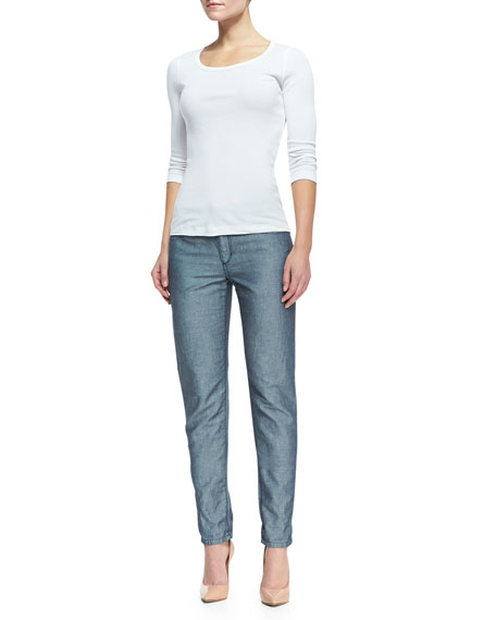 Weekender Slim Cropped Skinny Jeans